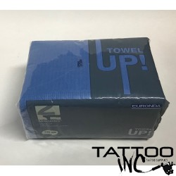Monoart® Premium Dark Blue Dental Bibs Case of 500  (10 x 50 packs)