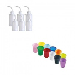 Rinse Bottles & wash cups